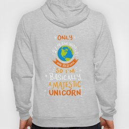 I'm Basically A Majestic Unicorn - Funny Redhead Quotes Gift Hoody