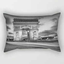 PARIS Arc de Triomphe | monochrome Rectangular Pillow