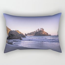 The Cove At Sunset Rectangular Pillow