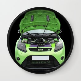 Green Focus RS Wall Clock