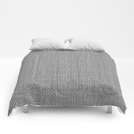 Natural Woven Silver Grey Burlap Sack Cloth Comforters