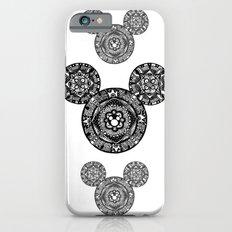 Mickey Mouse Mandala iPhone 6s Slim Case