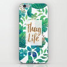 Thug Life 2 iPhone & iPod Skin