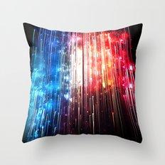 SUPERLUMINAL Throw Pillow