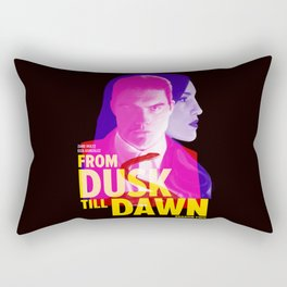From Dusk Till Dawn II - Richie & Santanico Rectangular Pillow