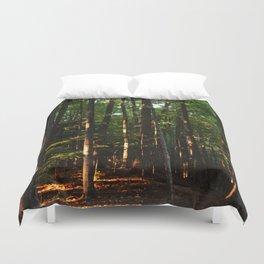 Forest // Sunset Effect Duvet Cover