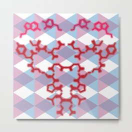 A Chemical Connection Metal Print