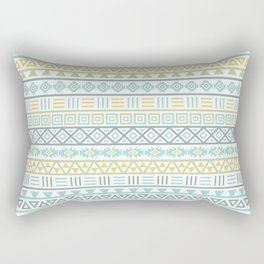 Aztec Influence Ptn Colorful Rectangular Pillow