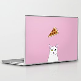 Fat D. Loves Pizza Laptop & iPad Skin