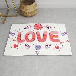 Flora Love Boho Style Rug
