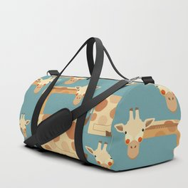 Giraffe, Animal Portrait Duffle Bag