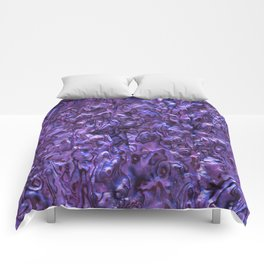 Abalone Shell | Paua Shell | Violet Tint Comforters