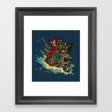 Sea Traveler Framed Art Print