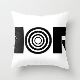 Hypnorrish Logo Throw Pillow