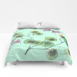 a touch of summer fragrance Comforters