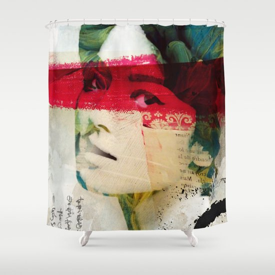 Saigon Sally Shower Curtain