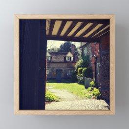 English Country House Framed Mini Art Print