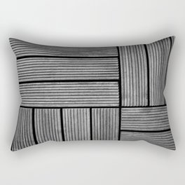 Wood pattern Rectangular Pillow