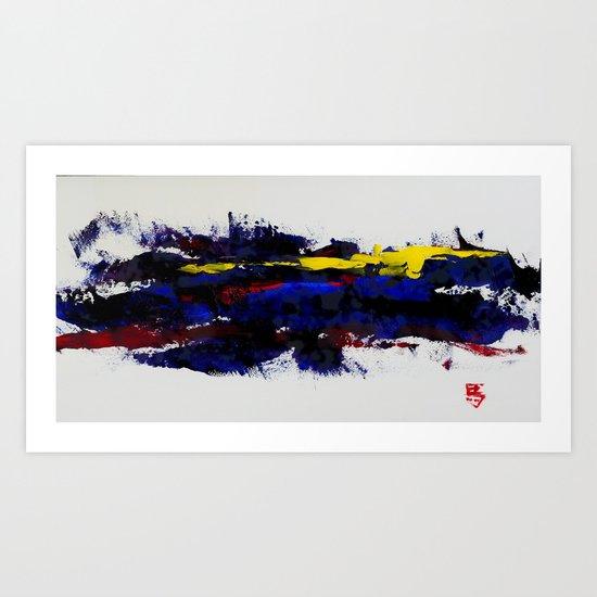 RiverSun Art Print
