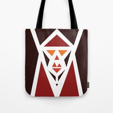 Five Triangle Faces - The Pope Tote Bag