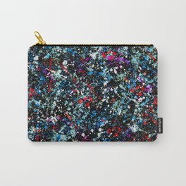 paint drop design - abstract spray paint drops 4 Carry-All Pouch