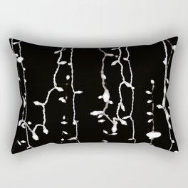 Falling Lights Rectangular Pillow