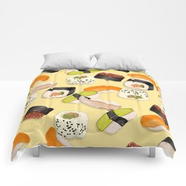 Sushi Party Comforters