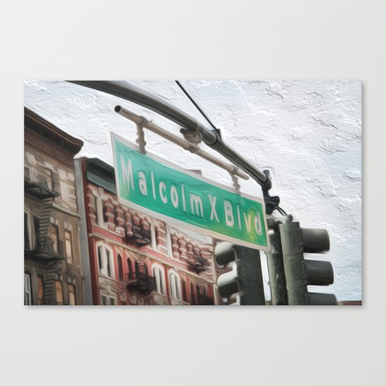 Malcom X Blvd Canvas Print
