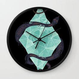 Mystic Crystal Wall Clock