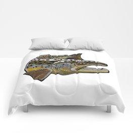 Killer Brown trout Comforters
