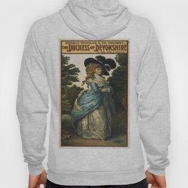 Vintage poster - Duchess of Devonshire Hoody