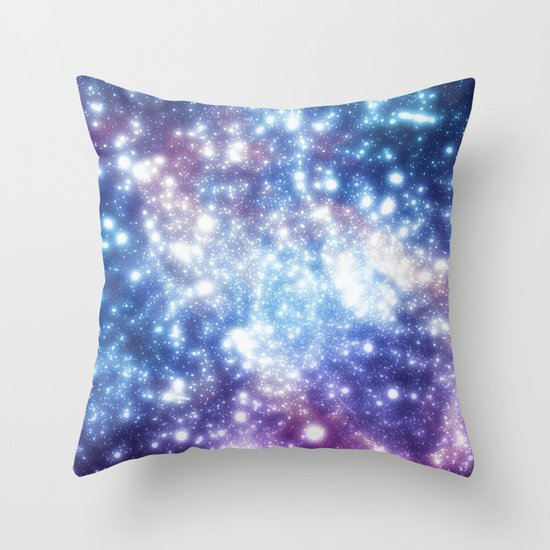Map of the Stars Throw Pillow