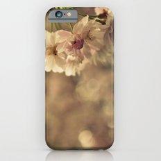 Cherry Blossom Bokeh Slim Case iPhone 6s