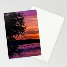 Sunset Over the Beach  Stationery Cards