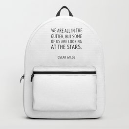 Some of us are looking at the stars Backpack
