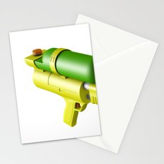 Water Gun Stationery Cards