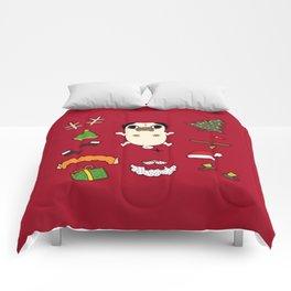 Christmas Pug Doll Comforters