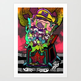 Invite Your Friends Art Print