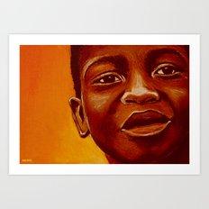 free africa! Art Print