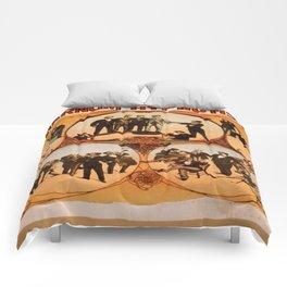 Vintage poster - Barnum the Hynotist Comforters