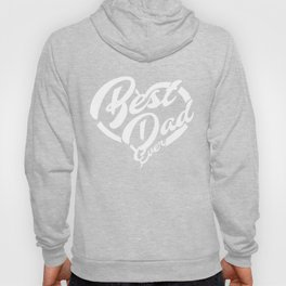 give big love heart to best dad Hoody