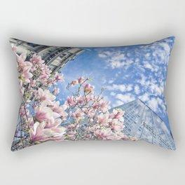 Uni dans le Temps Rectangular Pillow