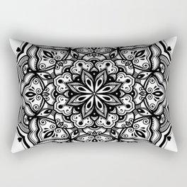 Heart mandala Rectangular Pillow