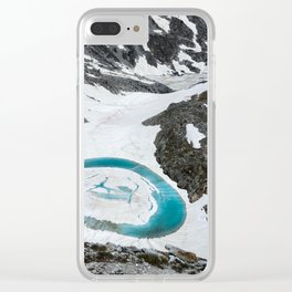Lakes of Frémamorte Clear iPhone Case
