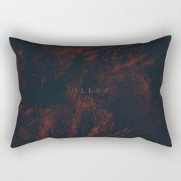 Day 0968 /// I'm on no sleep Rectangular Pillow