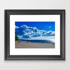 Find Your Beach Framed Art Print