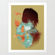 See It Through Art Print