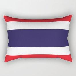 Thailand Flag Rectangular Pillow
