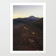 Lassen Volcanic National Park Art Print