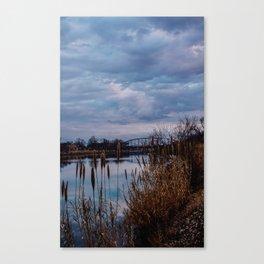Cloudy Skies Canvas Print
